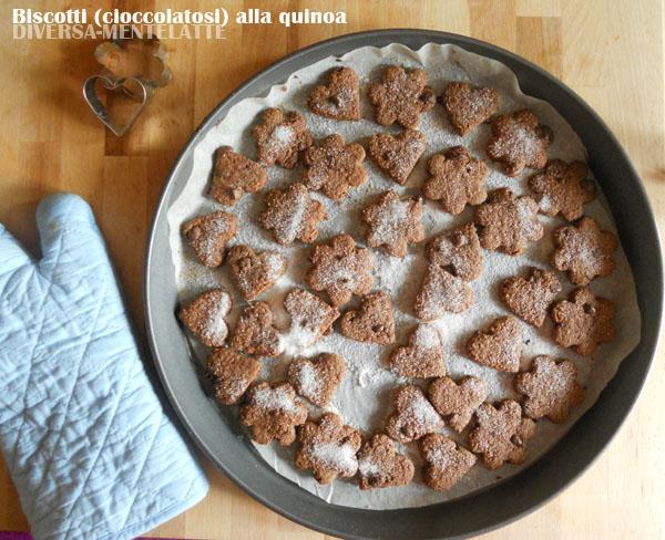 Biscotti quinoa e cioccolato