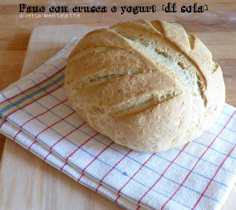 Pane con crusca e yogurt di soia