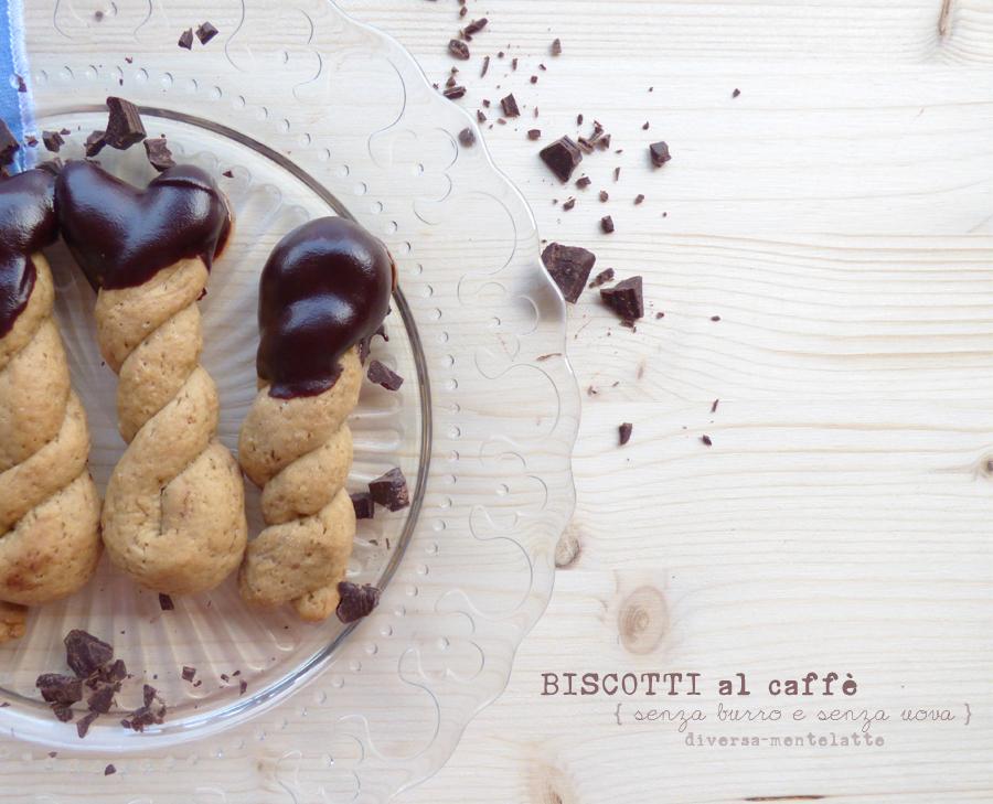 biscotti caffè ricoperti di cioccolato