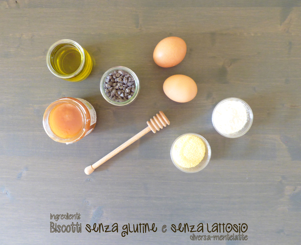 ingredienti biscotti senza glutine senza lattosio