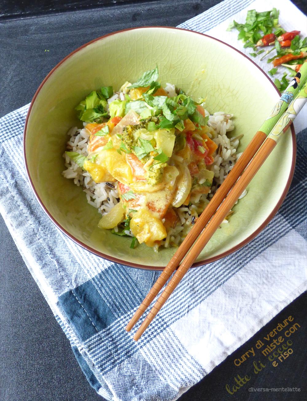 curry con riso
