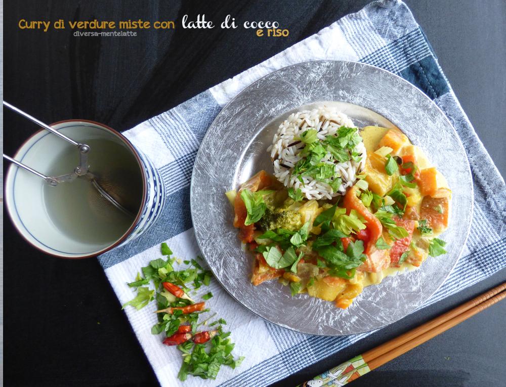 curry di verdure miste