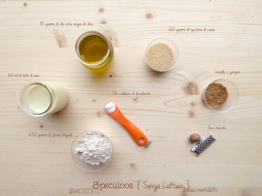 ingredienti speculoos senza lattosio