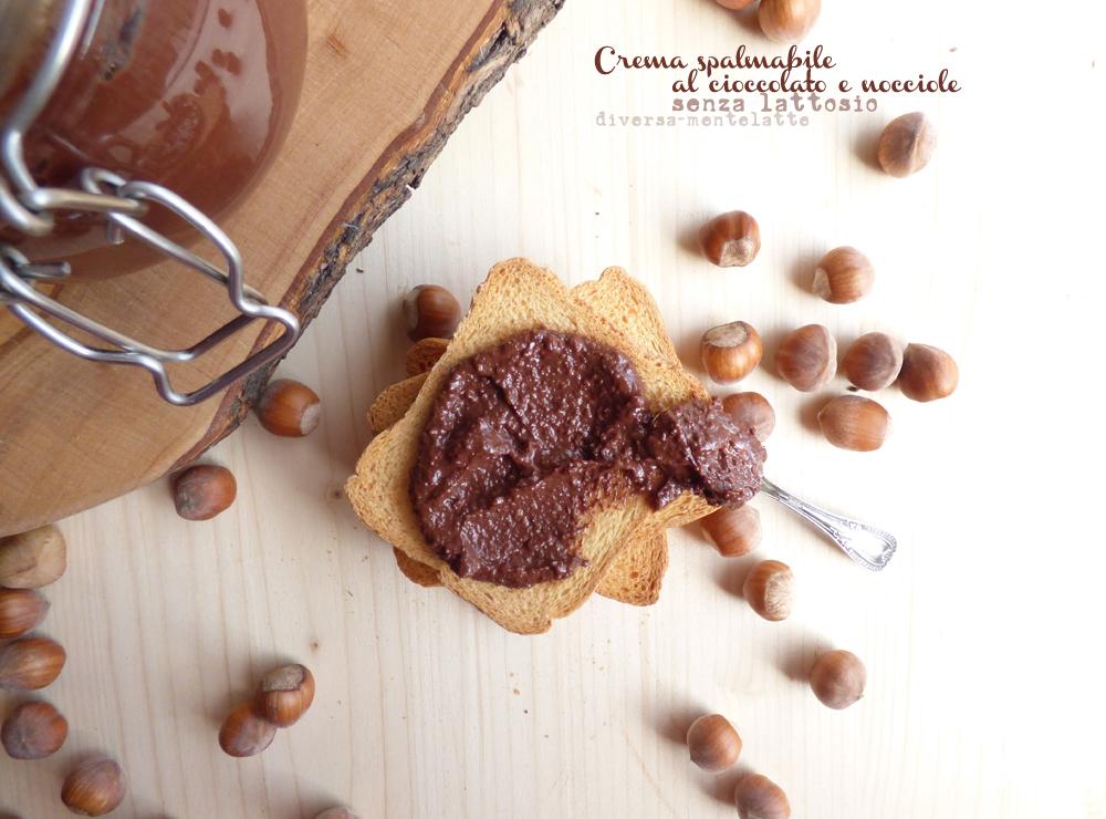 crema spalmabile cioccolato e nocciole