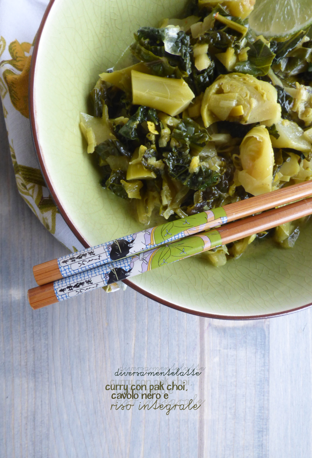 curry con riso integrale