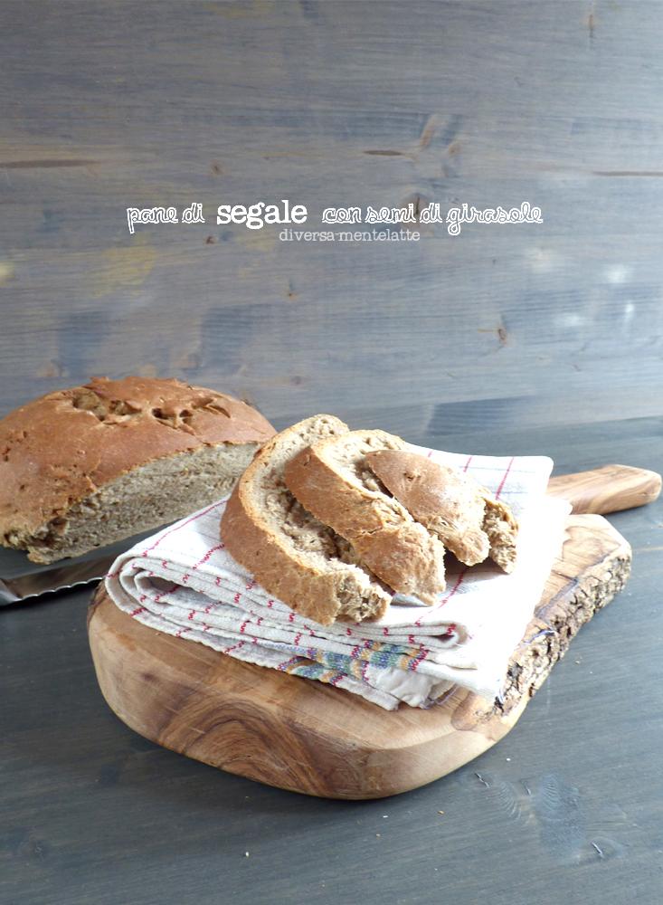 pane integrale con semi di girasole