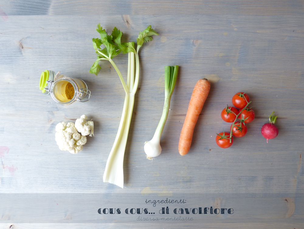 ingredienti cous cous di cavolfiore