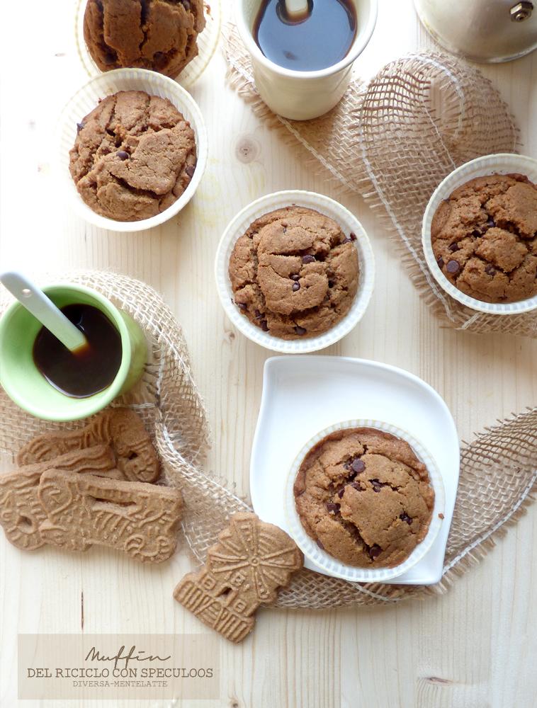 muffin con speculoos senza lattosio