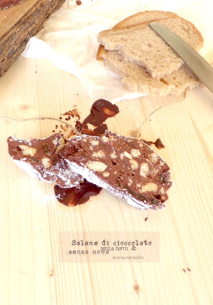 fette di salame di cioccolata