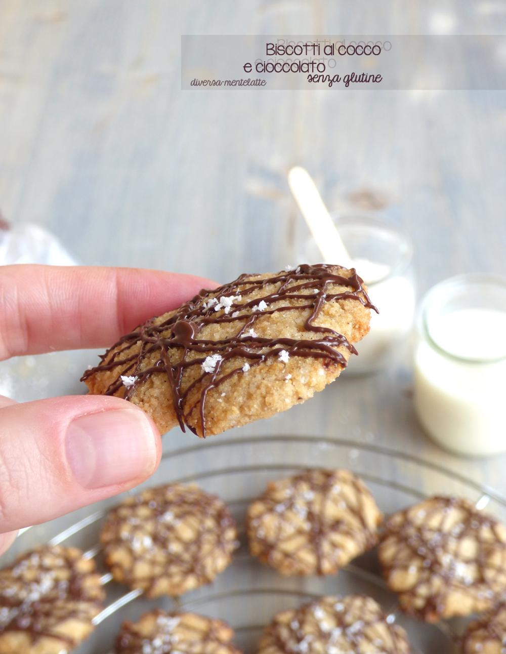 biscotti cocco senza glutine e senza lattosio