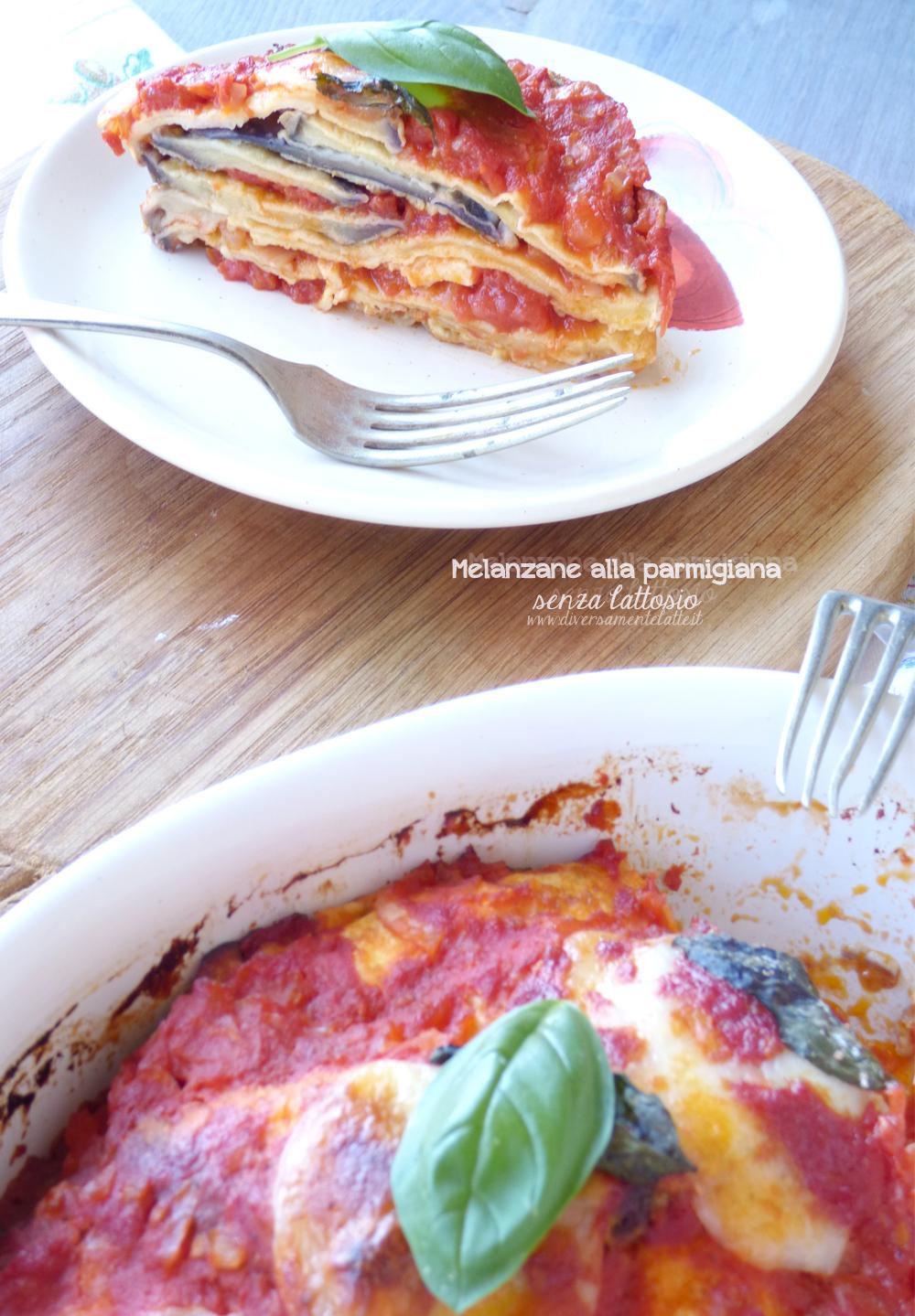 melanzane alla parmigiana lactose free