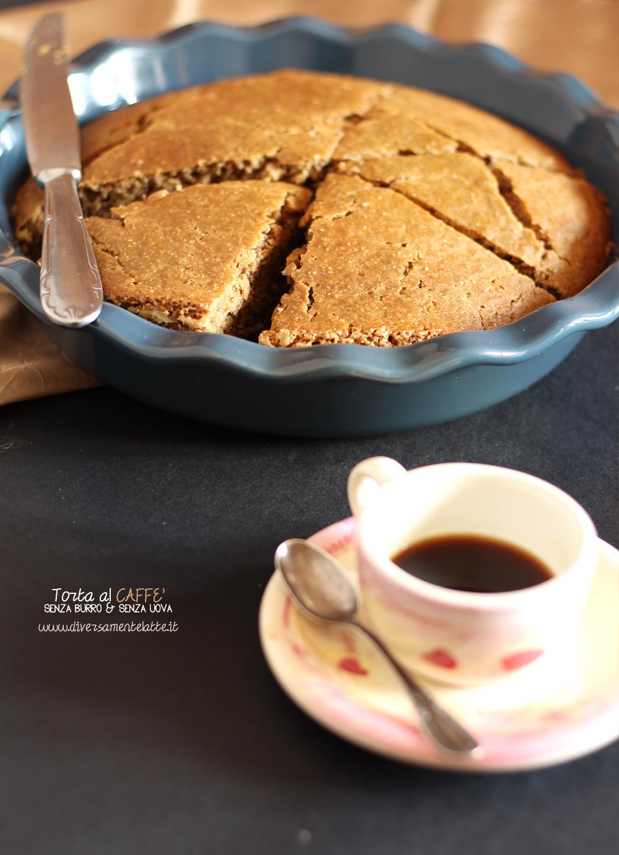 torta al caffè senza lattosio
