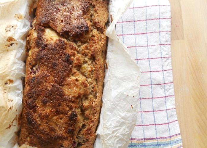 Banana bread: il plumcake alle banane no lattosio