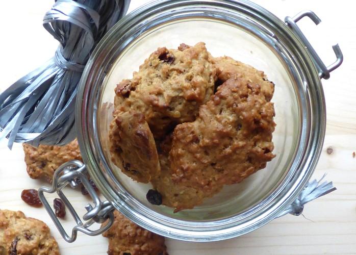Biscotti di avena agli agrumi senza lattosio e senza uova