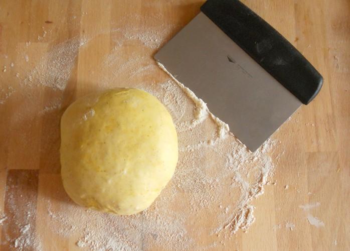 Grissini [con pasta madre] al curry
