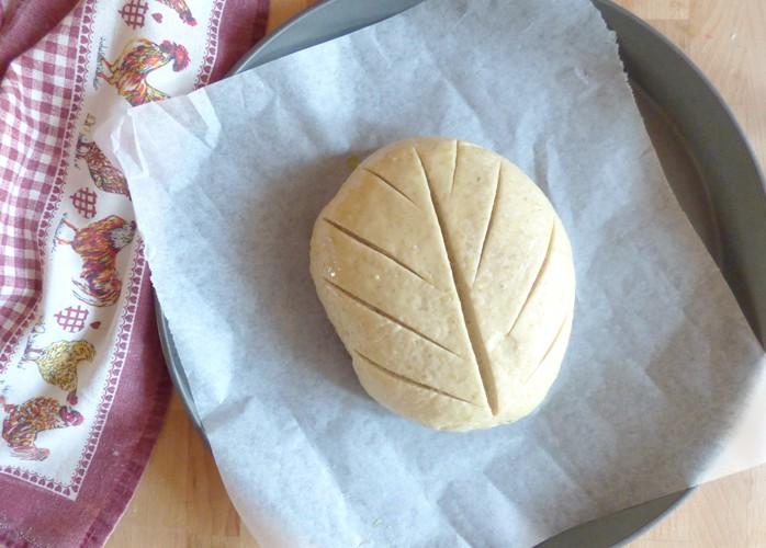 Pane con crusca e yogurt