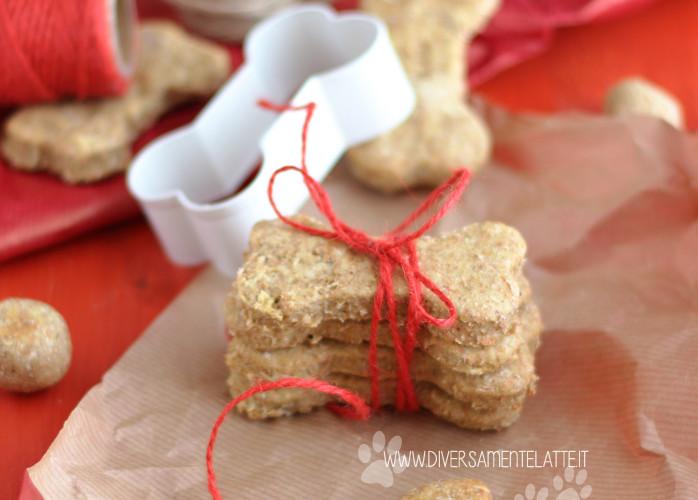 Biscotti per cani alla mela