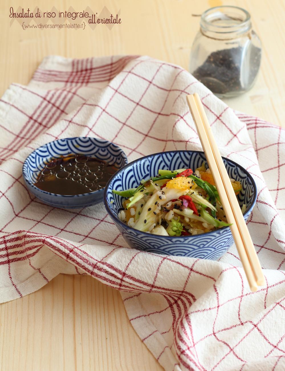 insalata di riso integrale