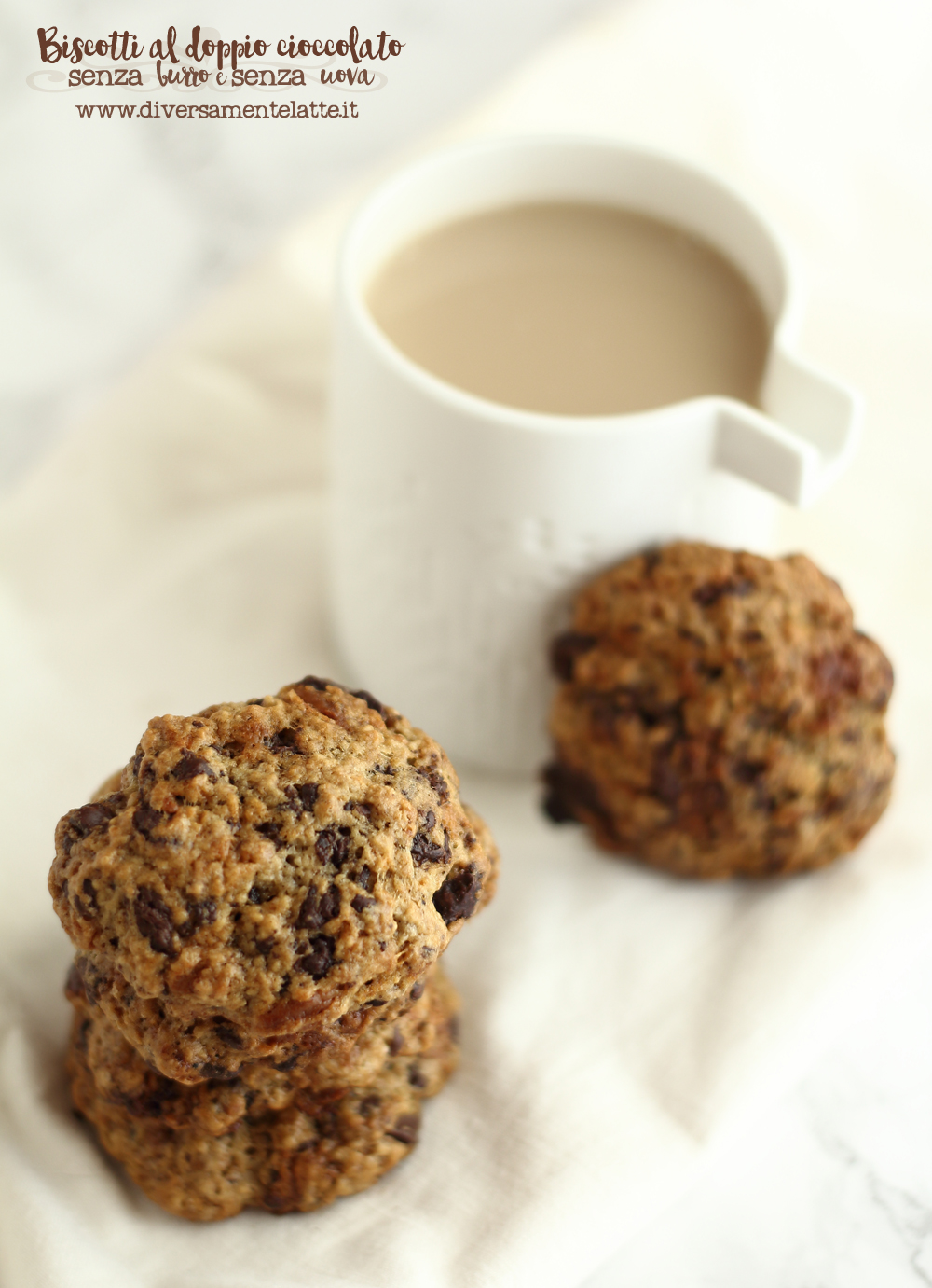 biscotti al doppio cioccolato