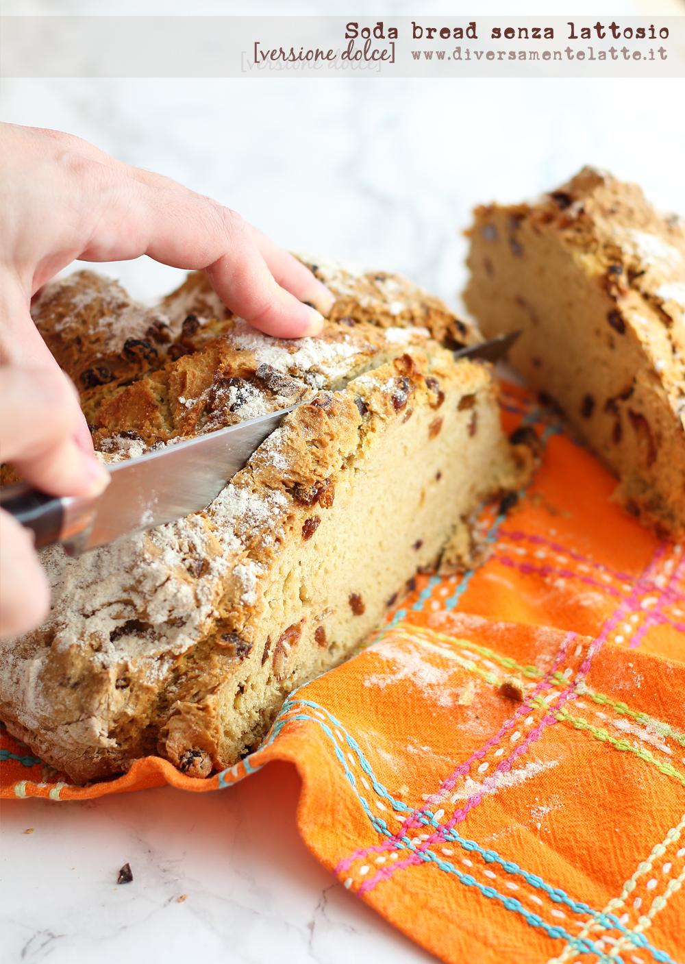 soda bread versione dolce