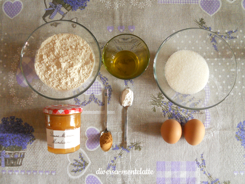Ingredienti crostata con frolla all'olio evo