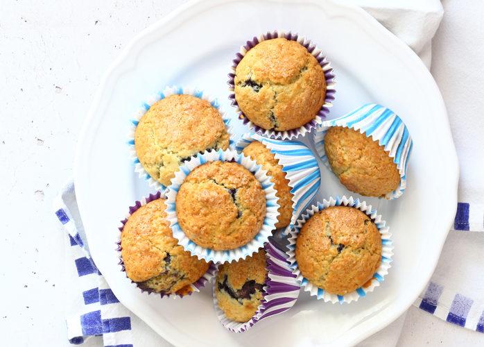 Muffin no lattosio alla confettura