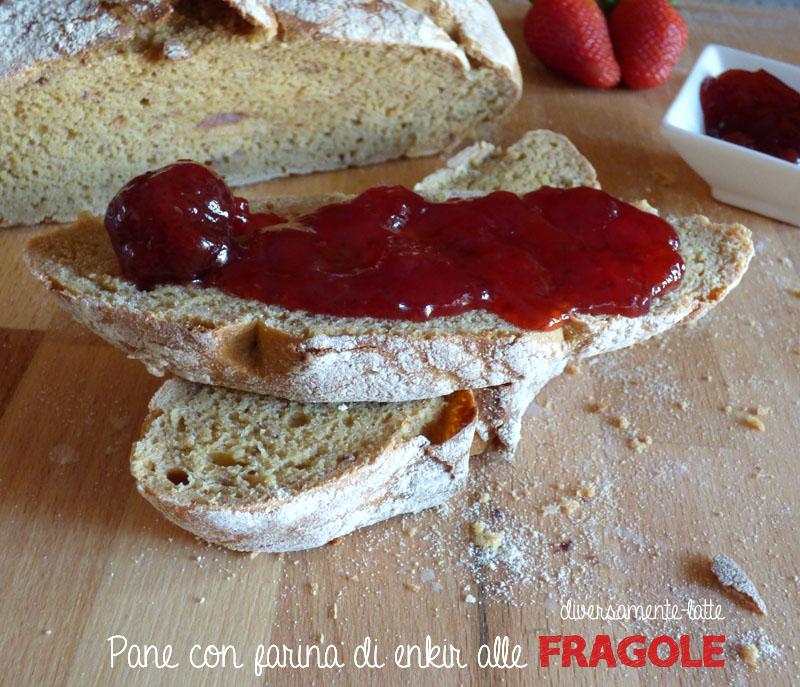 Pane con ragole e farina di enkir