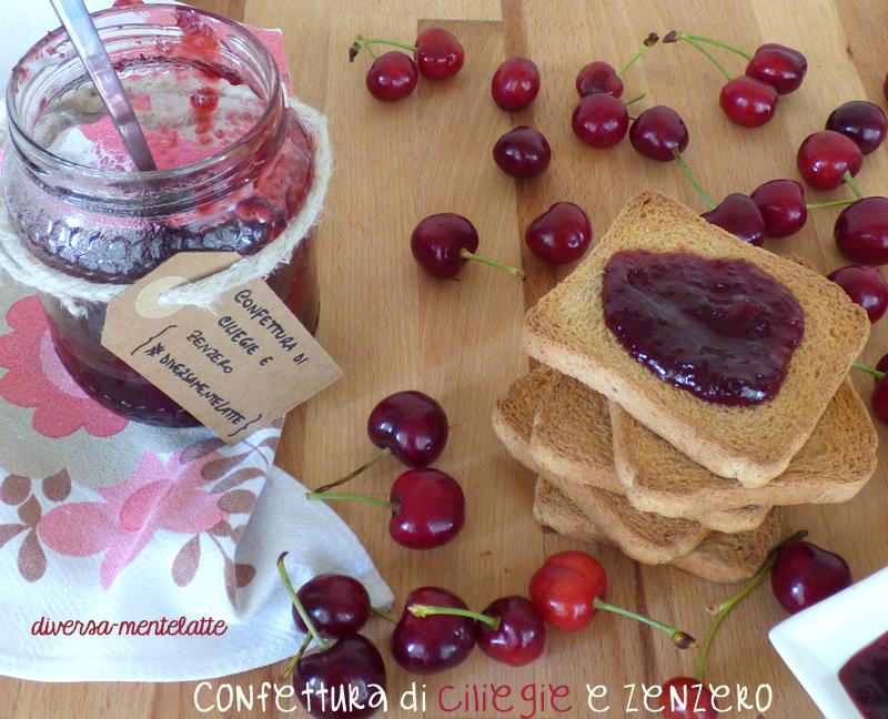 Confettura di ciliegie