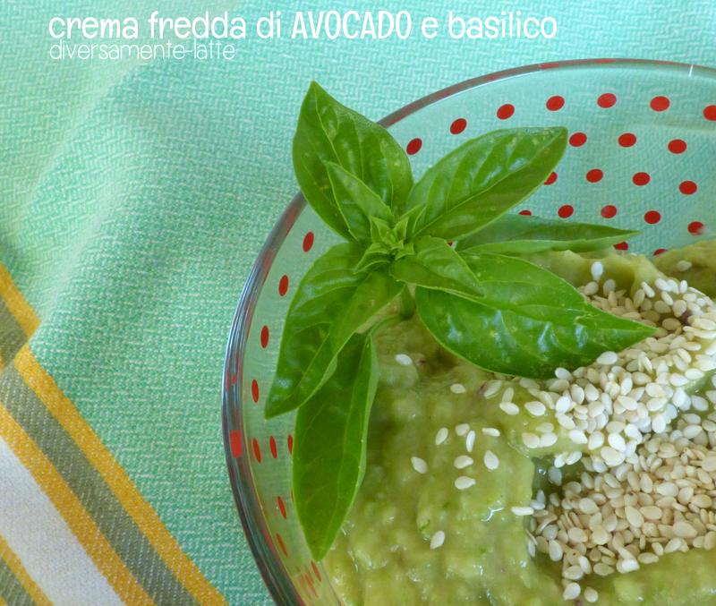 Crema fredda di avocado
