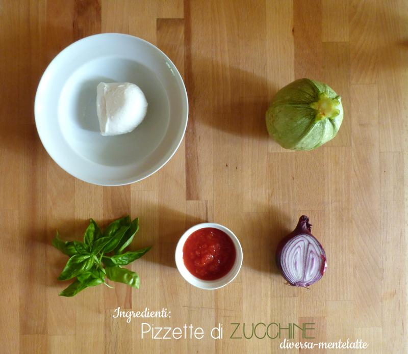 Ingredienti pizzette di zucchine