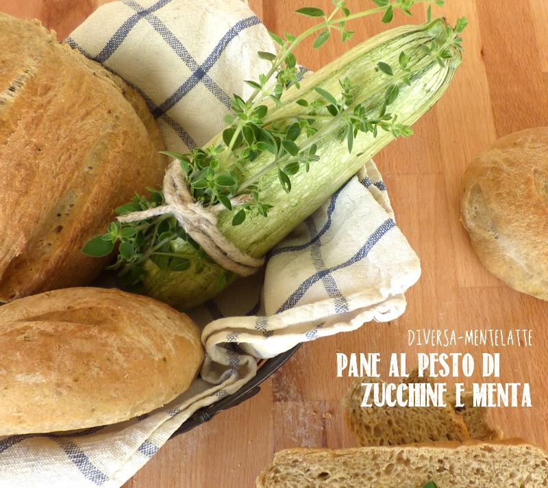 Pane al pesto di zucchine