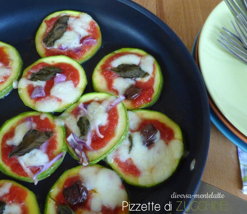 Pizzette di zucchine come antipasto