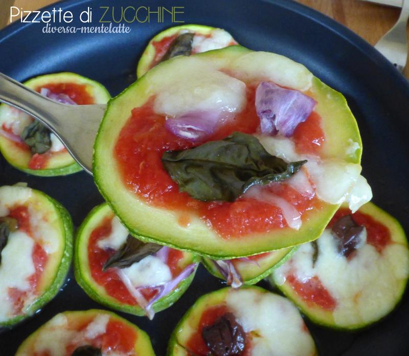 Pizzette di zucchine vegetariane