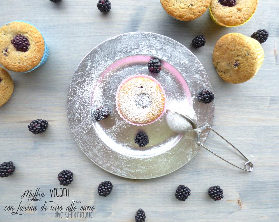 Muffin vegan con more
