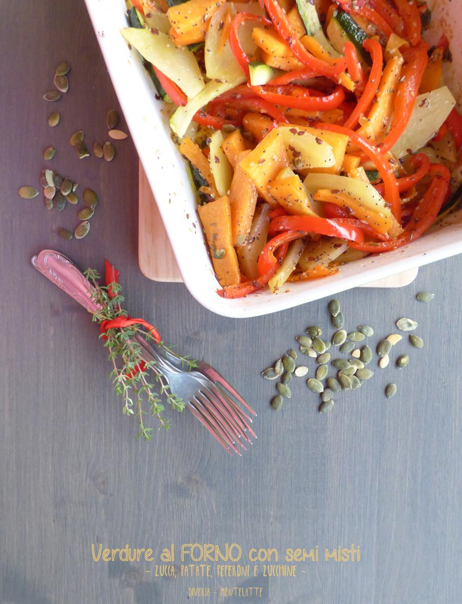 verdure nel forno