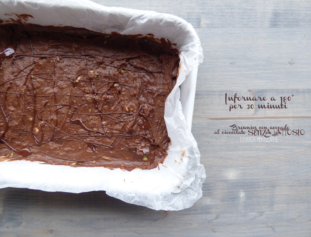 brownies da infornare