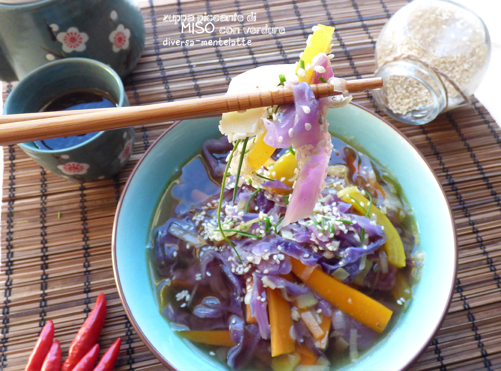 zuppa piccante miso
