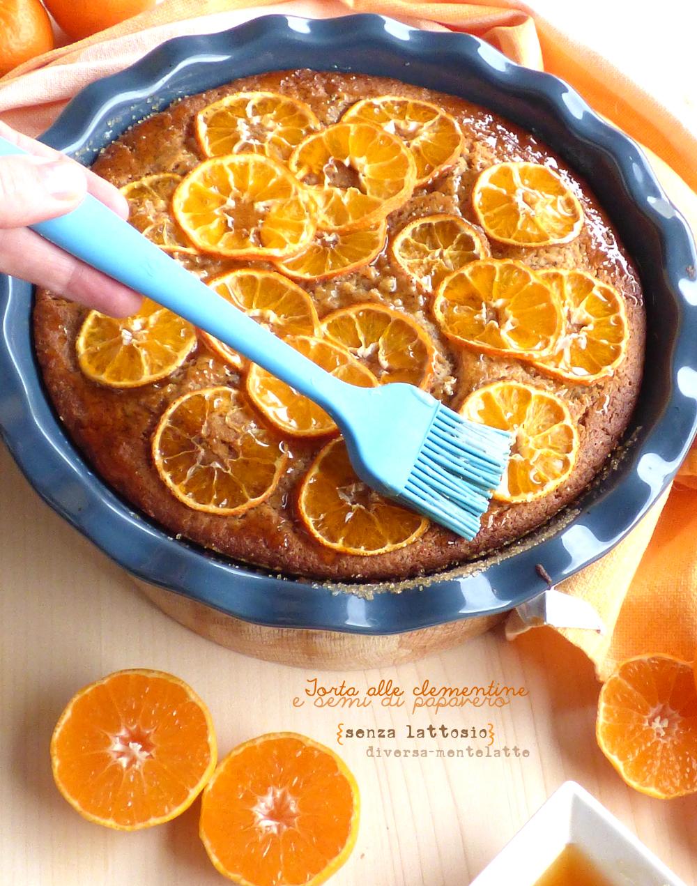 torta alle clementine con sciroppo