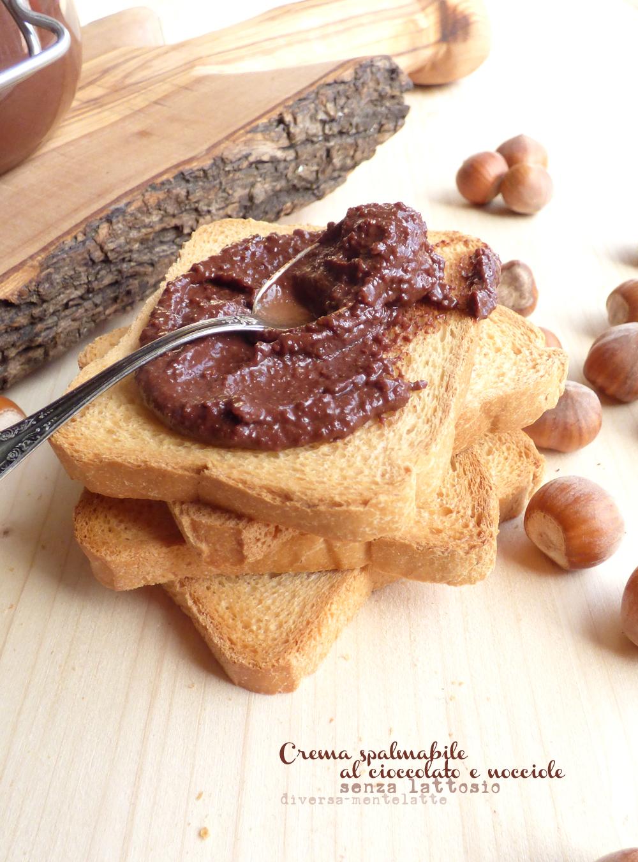 crema al cioccolato senza lattosio