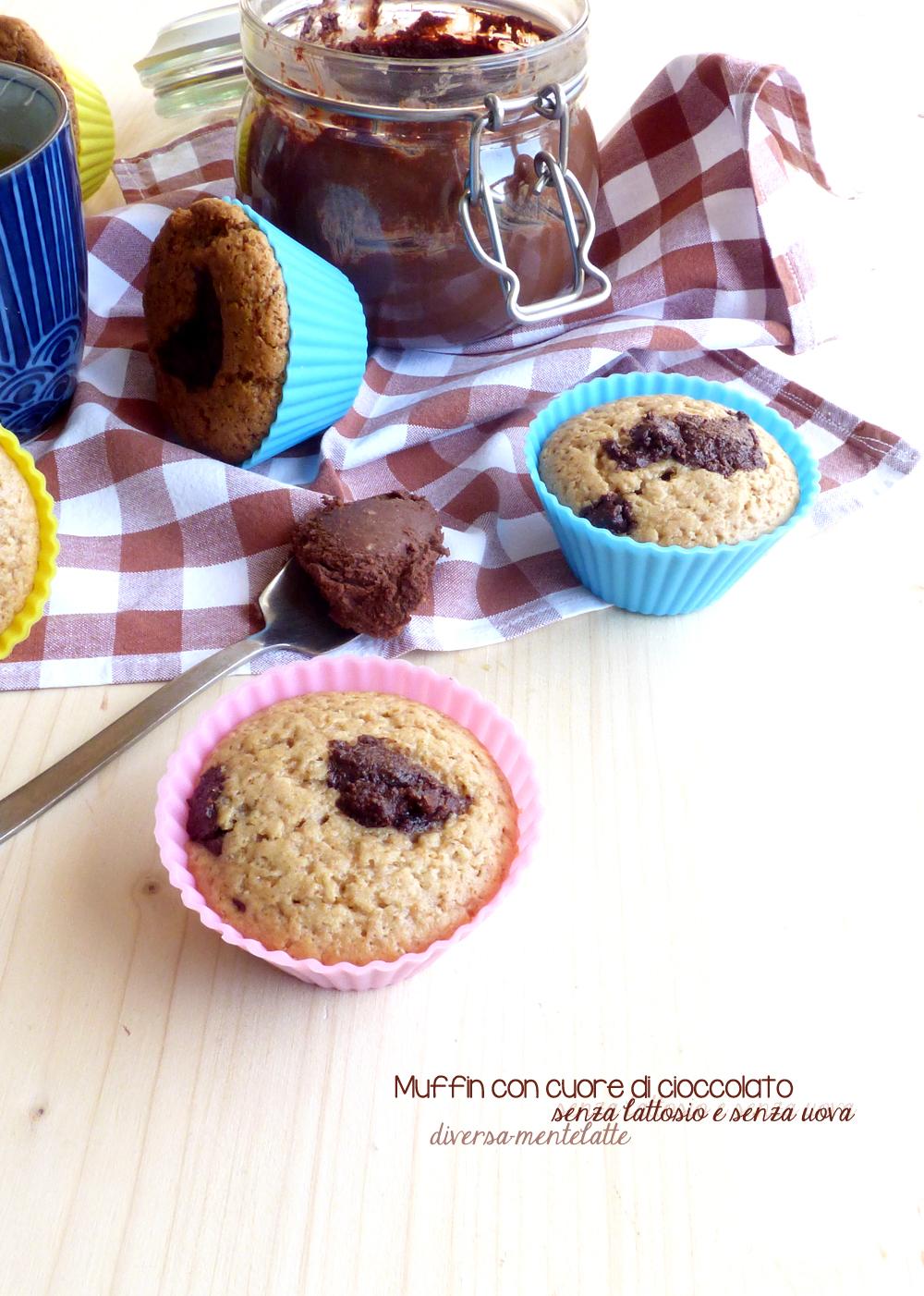 muffin con cioccolato lactosefree