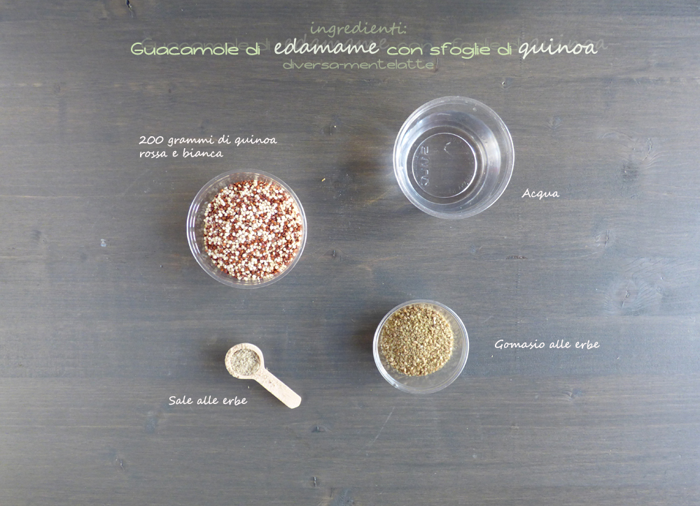ingredienti sfoglie di quinoa