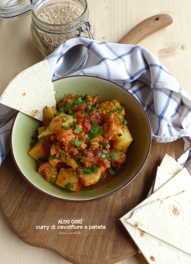 curry di cavolfiore e patate