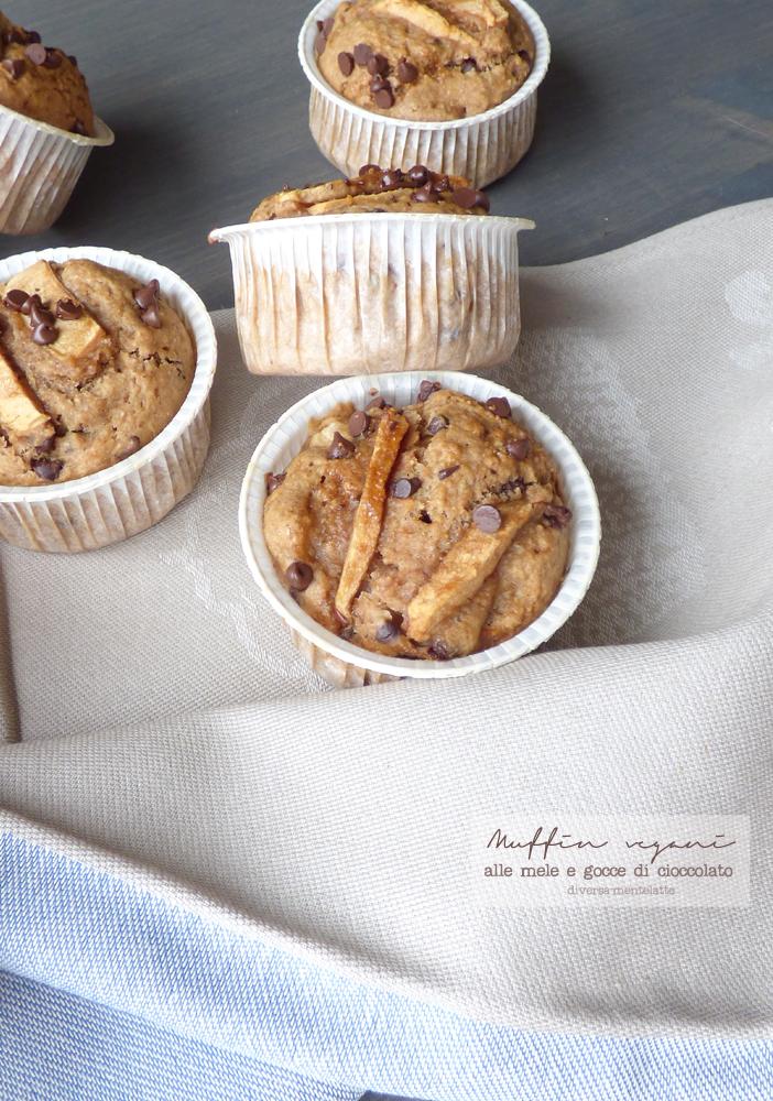 muffin alle mele senza lattosio e senza uova