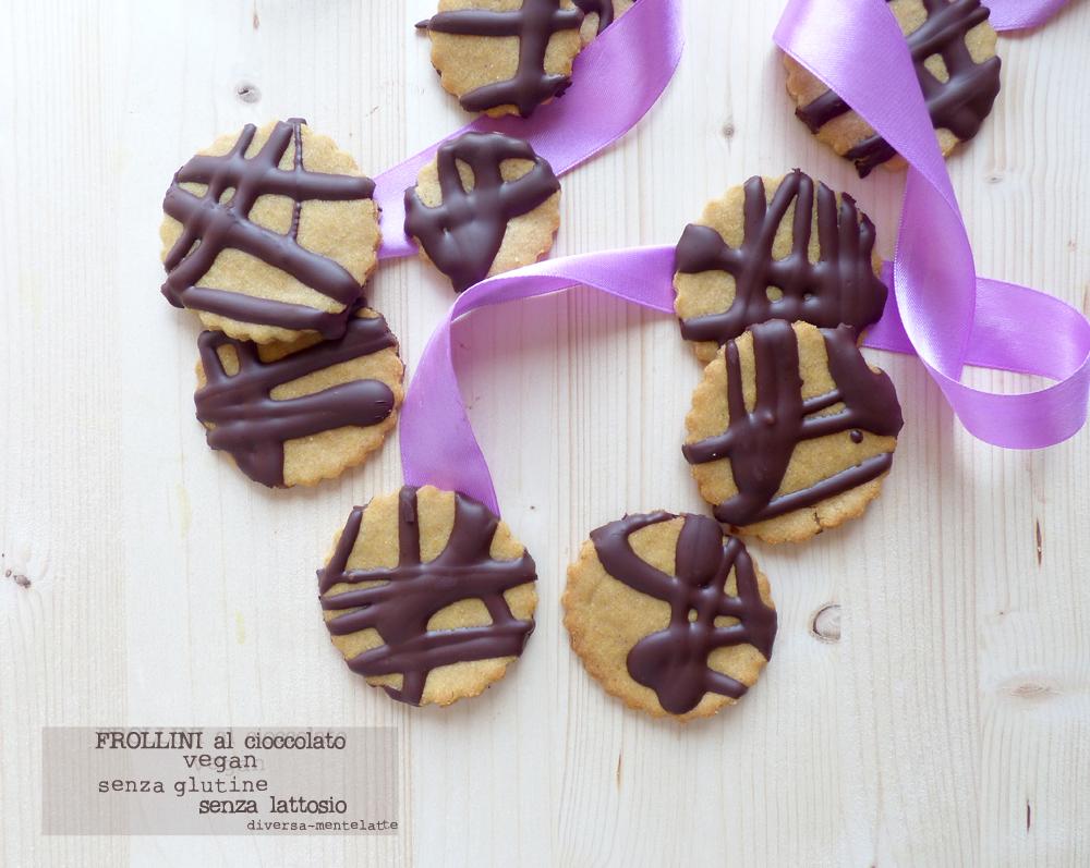 frollini cioccolato vegan senza glutine
