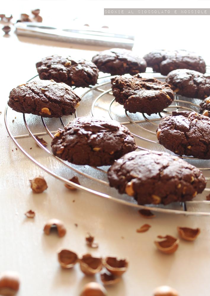 cookie cioccolato e nocciole senza lattosio