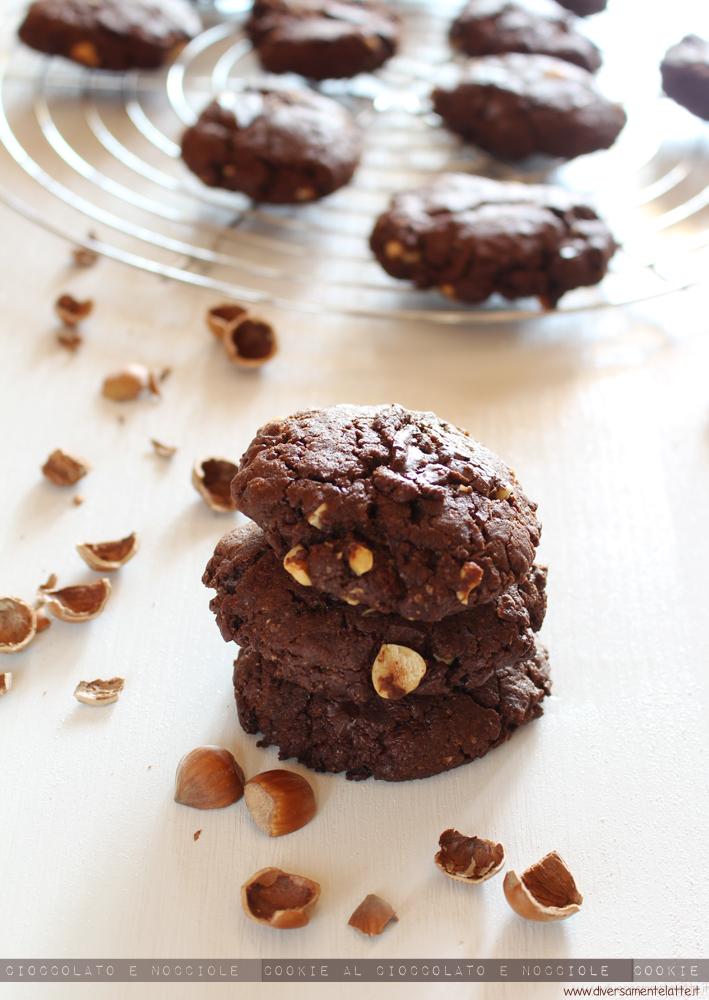 cookie cioccolato e nocciole