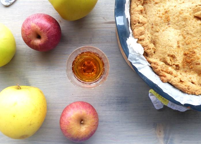 Apple pie vegana [senza lattosio e senza uova]