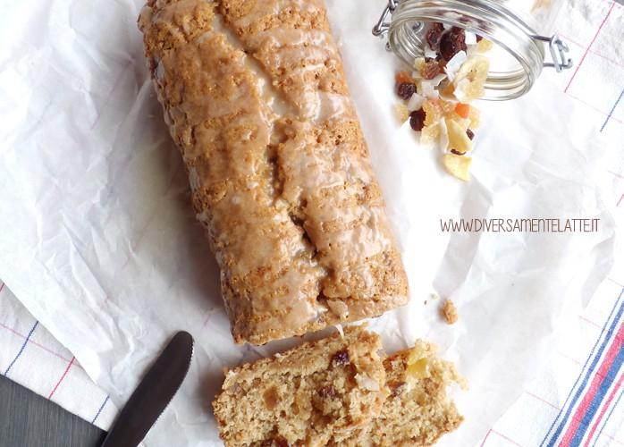 Cake alla frutta secca senza burro e senza uova