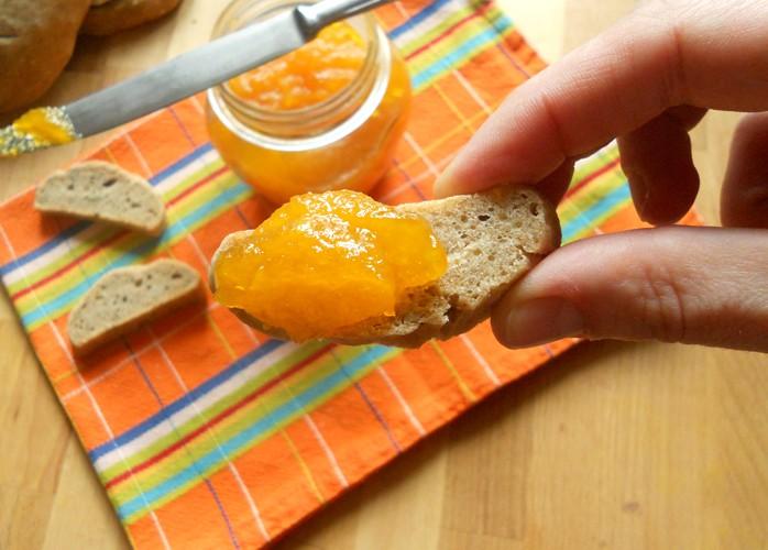 Confettura alla zucca, zenzero e mandarini