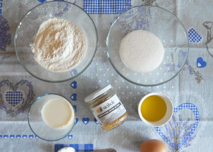 Muffin no lattosio alla confettura extra di fichi